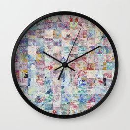 Abstract 141 Wall Clock