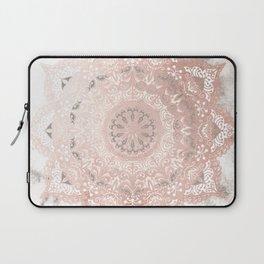 Dreamer Mandal Rose Gold Laptop Sleeve