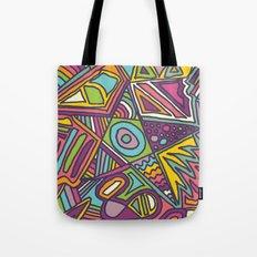 Colourful Chaos Tote Bag