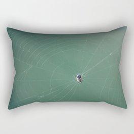 In the spider's net Rectangular Pillow