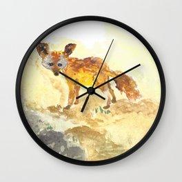 Fennec Wall Clock