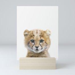 Cheetah Cub Mini Art Print