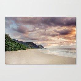 Hawaii Sunsets #1 Canvas Print