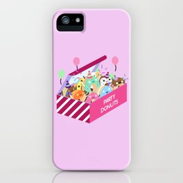 Party Donuts iPhone Case