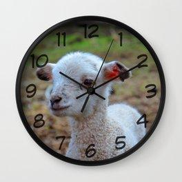 baa-lamb Wall Clock