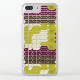 desert modernism 2.0 Clear iPhone Case