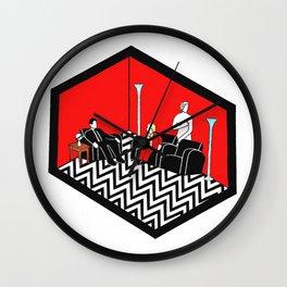 Twin Peaks Black Lodge Wall Clock