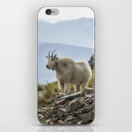 The Ups and Downs of Being A Mountain Goat No. 2a iPhone Skin