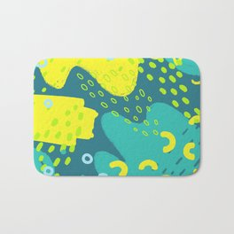 Neon Fun 5 Bath Mat