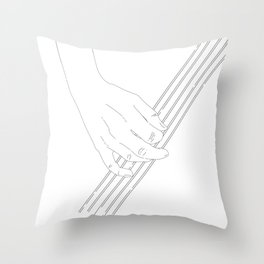 Tunes for you Throw Pillow
