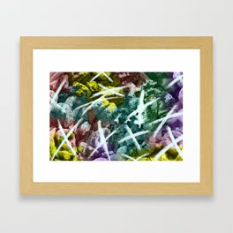 Tic-tac-toe Framed Art Print