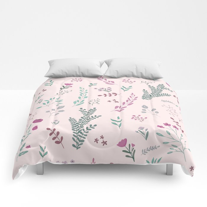 Floreal pattern Comforters