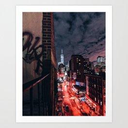 1 World Trade Center Art Print