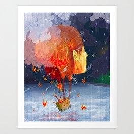 Airy-fairy Art Print