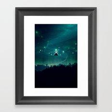 Wireless Camping Framed Art Print