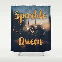 Sparkle Queen Shower Curtain