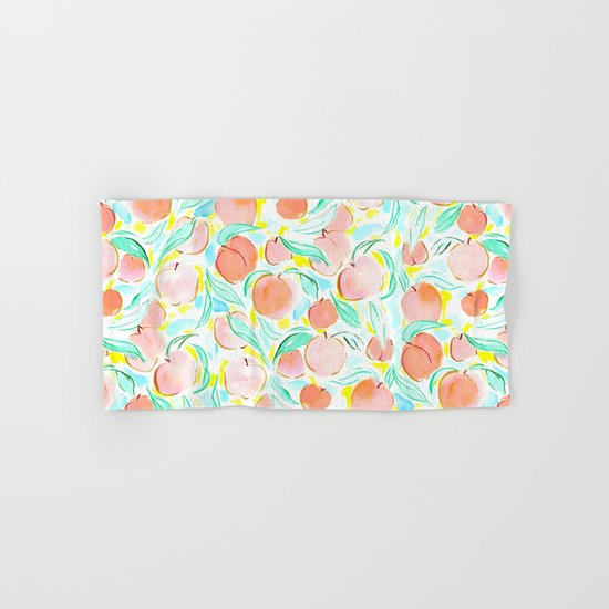 Peachy Hand & Bath Towel