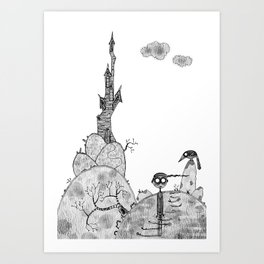 From the Castle Art Print