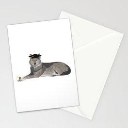 Graduation Wolf Stationery Cards