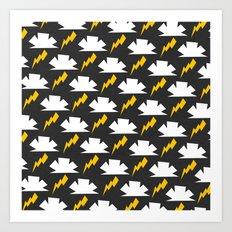 Thunder! Art Print