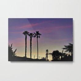 Seaworld Sunset Metal Print