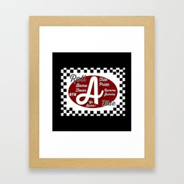 Roll Tide! Framed Art Print