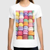 macarons T-shirts featuring Macarons by Sankakkei SS