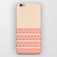 peach iPhone & iPod Skins featuring Peach by Lyle Hatch