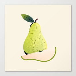 Growing a Pear Canvas Print