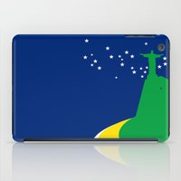 brazil iPad Cases featuring BRAZIL by Marcus Wild