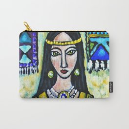 Navajo Rug * Nature Maiden Carry-All Pouch