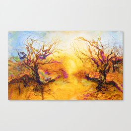 Spring Thaw On Acid Canvas Print