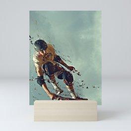 skate board 6 Mini Art Print