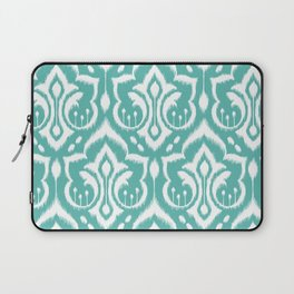 Ikat Damask Aqua Laptop Sleeve