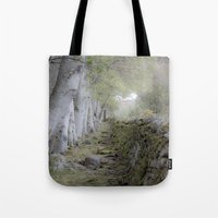 outlander Tote Bags featuring The magic between by KClark Photography