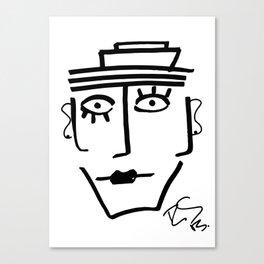 Faire Visage No 28 Canvas Print