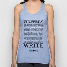 WRITERS WRITE! Unisex Tank Top