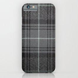 Highland Granite Tartan iPhone Case