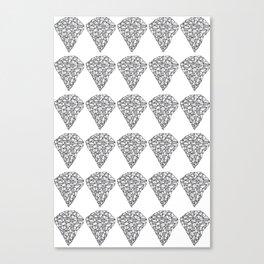 Diamond Repeat Pattern Canvas Print