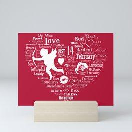 The Red Heart Mini Art Print