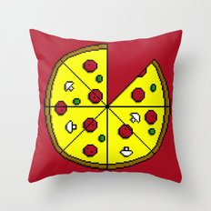 Who 8 my bit? Throw Pillow