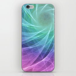 Whirlpool Diamond Computer Art iPhone Skin