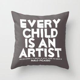 Artist - Quotable Series Throw Pillow