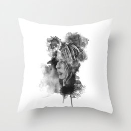 Cath Ink'd Throw Pillow