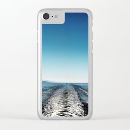 wake Clear iPhone Case