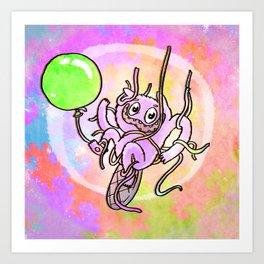 Streamer Beaver Art Print