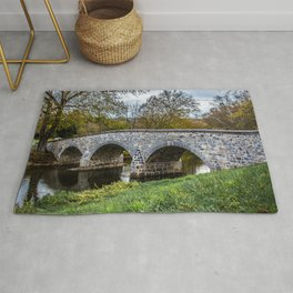Lower Bridge Burnside's Bridge Antietam National Battlefield Civil War Maryland Rug