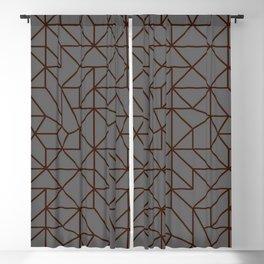 Masculine Geometric Patterns | Modern | Minimalist Blackout Curtain