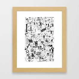 Brand New and Beefy Framed Art Print
