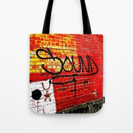 Wall of Sound Tote Bag